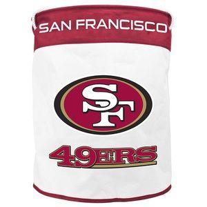 NFL San Francisco 49ers Canvas Laundry Basket